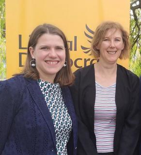 Ellen Nicholson and Jo Swinson