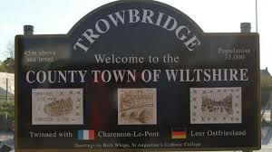 Trowbridge Town sign